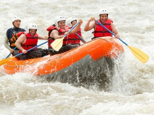 Rafting in Sri Lanka with Walkers Tours