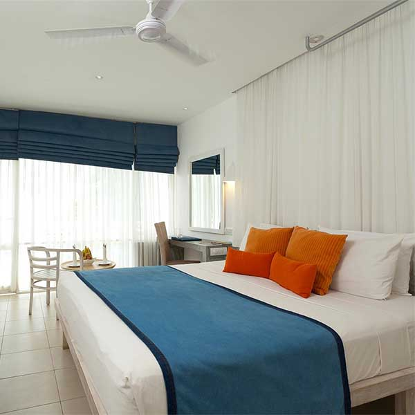 Cozy view of Superior room at Trinco Blu by Cinnamon