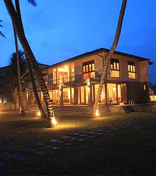 Beautiful exterior of Kabalana Beach Getaway