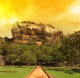 Picturesque & astonishing Sigiriya Fortress in Sri Lanka