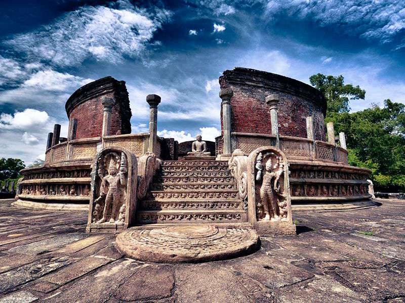 The Polonnaruwa Vatadage - an ancient structure in Sri Lanka