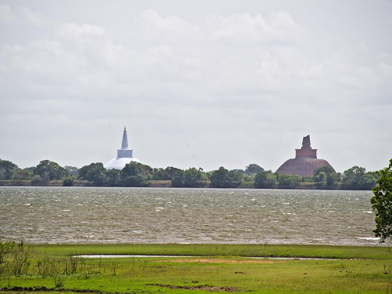 Two architectural & scared marvels in Anuradhapura