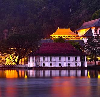 Kandy in sri lanka