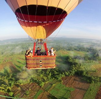 Hot Air Ballooning in Dambulla in sri lanka