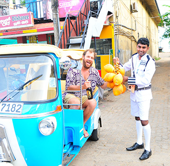 Colombo Street Food Safari by Tuk Tuk in sri lanka