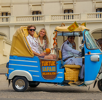 Colombo City Safari by Tuk Tuk in sri lanka