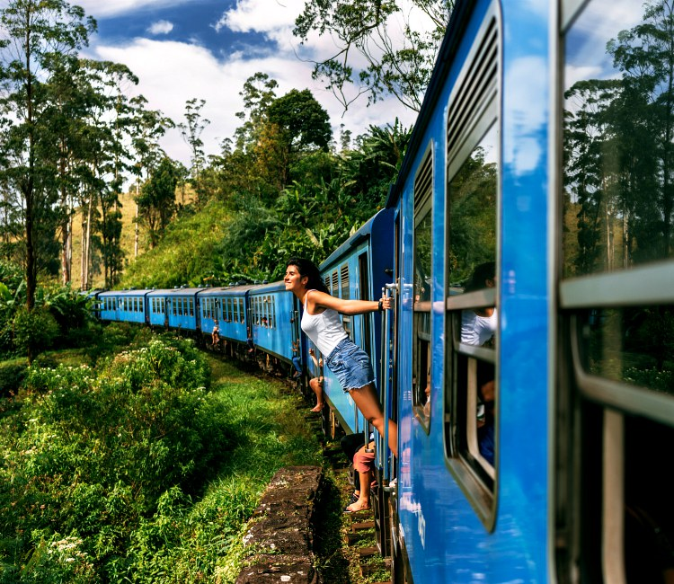Train Rides to the Hill Country in Sri Lanka