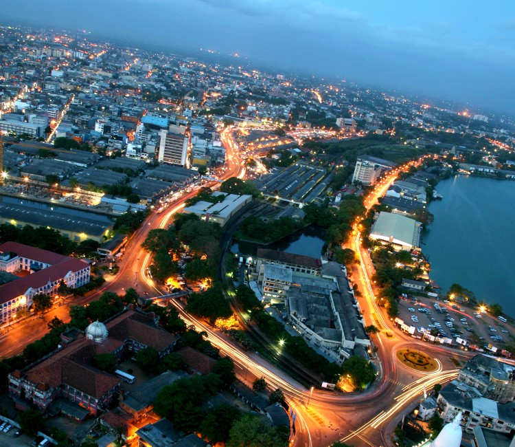 The Birds Eye View of Colombo