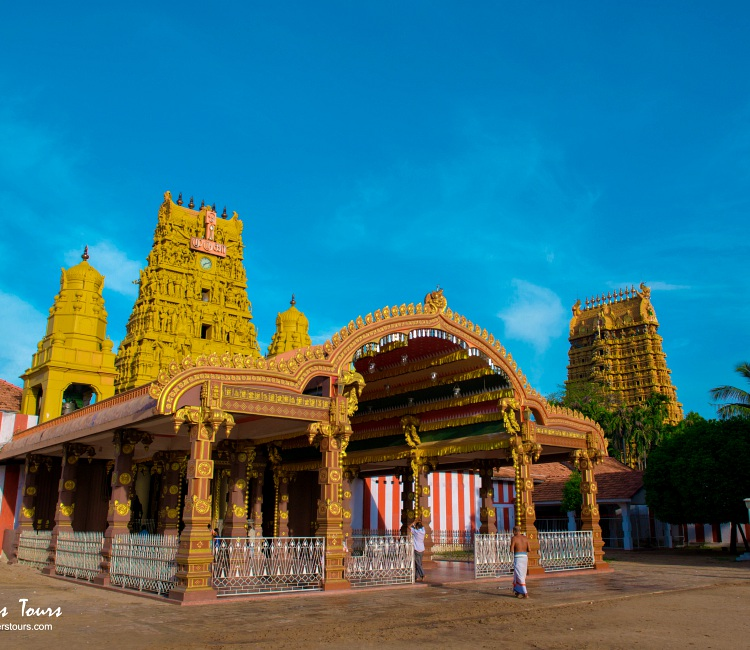 Nallur Kandaswamy Temple at Jaffna