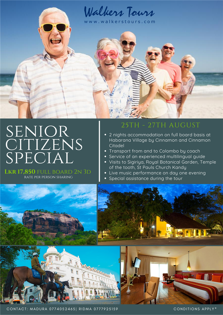senior citizens special
