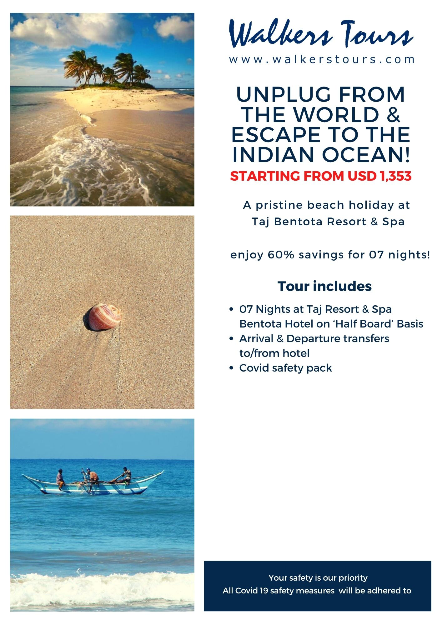 unplug from the world & Escape to the indian ocean